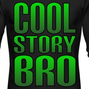 Cool Story Bro - Men's Long Sleeve T-Shirt by Next Level