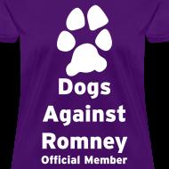 Design ~ Official Mitt Romney Dog Womens Tee