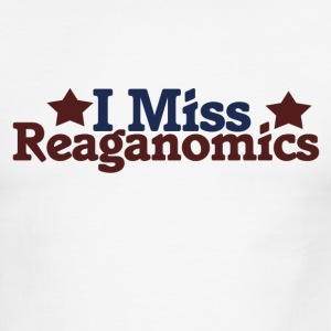 I Miss Reaganomics - Men's Ringer T-Shirt