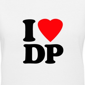 I Heart DP - Women's V-Neck T-Shirt