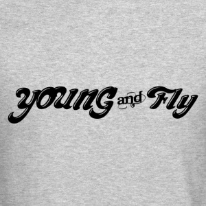 Young & Fly Long Sleeve Shirts - Crewneck Sweatshirt