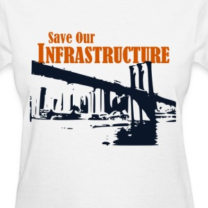 Save Our Infrastructure Brooklyn bridge - Women's T-Shirt