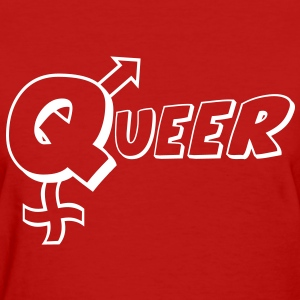 Queer Women's T-Shirts - Women's T-Shirt