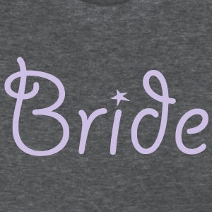 Bride - Text with Star - Women's T-Shirt