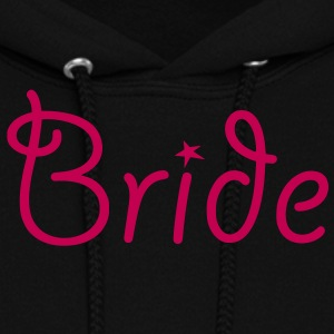 Bride - Text with Star - Women's Hoodie