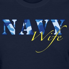 Navy Wife Women's T-Shirts