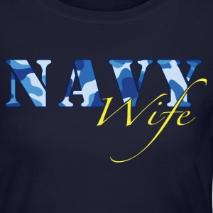 Navy Wife Long Sleeve Shirts - Women's Long Sleeve Jersey T-Shirt