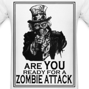 Zombie Readiness - Men's T-Shirt