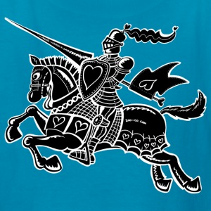 The Knight of Love Kids' Shirts - Kids' T-Shirt