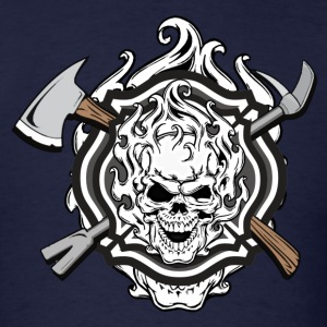 Skulls & Irons - Men's T-Shirt