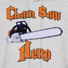 Chain Saw Hero Chainsaw Hoodies
