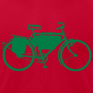 Swiss Army Bicycle T-shirt 2 - Men's T-Shirt by American Apparel