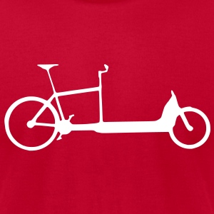 Cargo Bike T-shirt - Men's T-Shirt by American Apparel