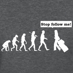 stop follow me - Women's T-Shirt