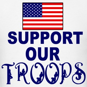 support troops - Men's T-Shirt