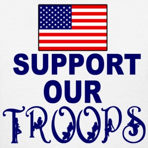 support troops - Women's T-Shirt