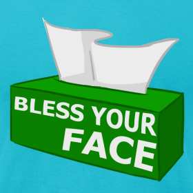 Design ~ BLESS YOUR FACE (American Apparel)