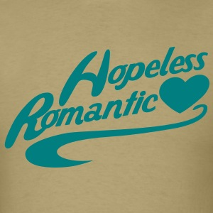hopeless romantic T-Shirts - Men's T-Shirt