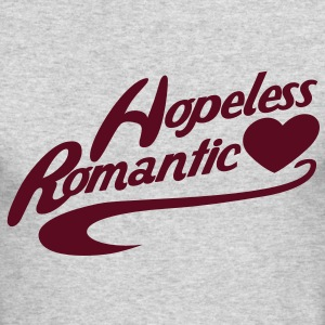 hopeless romantic Long Sleeve Shirts - Men's Long Sleeve T-Shirt by Next Level