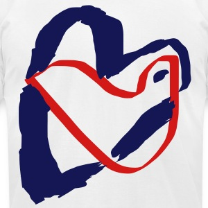Love Bird - Men's T-Shirt by American Apparel