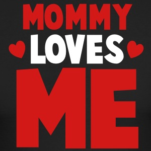 MOMMY loves ME! with little hearts Long Sleeve Shirts - Men's Long Sleeve T-Shirt by Next Level