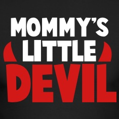 MOMMY's LITTLE DEVIL Long Sleeve Shirts