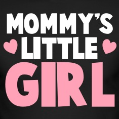 MOMMY's LITTLE GIRL Long Sleeve Shirts