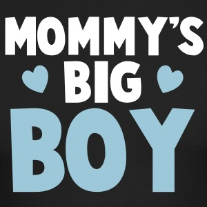MOMMY's BIG boy blue Long Sleeve Shirts - Men's Long Sleeve T-Shirt by Next Level