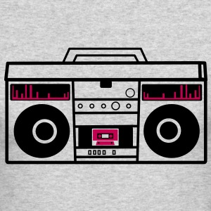 1980 BOOM BOX simple with speakers for a DJ Long Sleeve Shirts - Men's Long Sleeve T-Shirt by Next Level