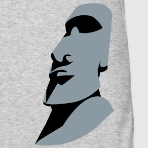 EASTER ISLAND STATUE ROCK alone Long Sleeve Shirts - Men's Long Sleeve T-Shirt by Next Level