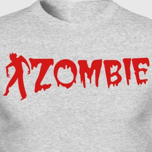 zombie creature with type Long Sleeve Shirts - Men's Long Sleeve T-Shirt by Next Level