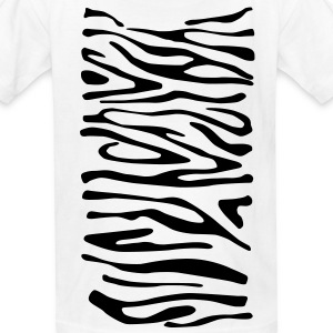 Zebra Print Children's T-Shirt - Kids' T-Shirt