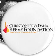 Design ~ Reeve Foundation One-Inch Buttons (5 Pack)
