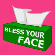 Design ~ BLESS YOUR FACE (Women)