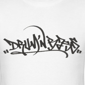 Graffiti Drum 'N Bass Shirt - Men's T-Shirt