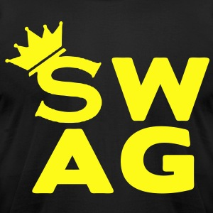 Royal SWAG KING - Men's T-Shirt by American Apparel