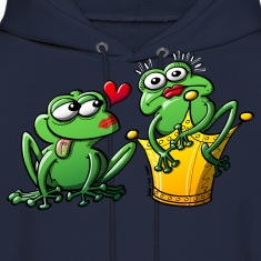 Princess is a Frog Now Hoodies