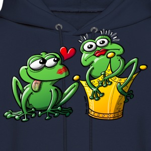 Princess is a Frog Now Hoodies - Men's Hoodie