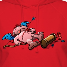 Who Killed Cupid? Hoodies