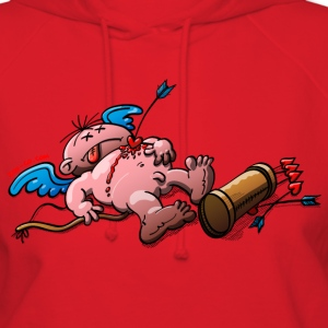 Who Killed Cupid? Hoodies - Women's Hoodie