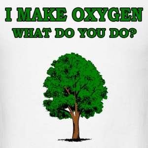 i make oxygen - Men's T-Shirt