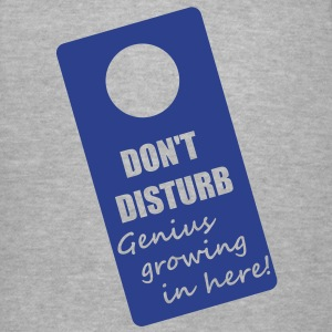 DON'T DISTURB! Women's T-Shirts - Women's V-Neck T-Shirt