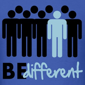Be different Vector Design T-Shirts - Men's T-Shirt