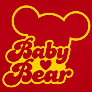 BABY BEAR (new) with teddy shape Baby Bodysuits - Short Sleeve Baby Bodysuit