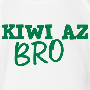 KIWI AZ BRO (New Zealand) Baby Bodysuits - Short Sleeve Baby Bodysuit