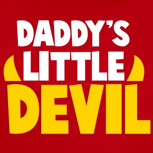DADDY's LITTLE DEVIL Baby Bodysuits - Short Sleeve Baby Bodysuit