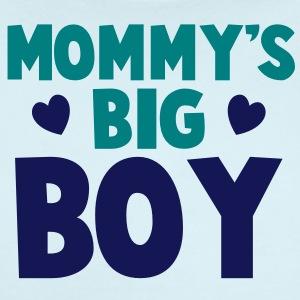 Mommy s big boy blue baby bodysuits short sleeve baby bodysuit