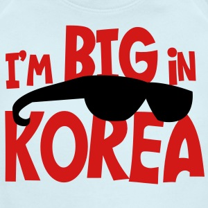 i'm big in korea with kim jong il sunglasses Baby Bodysuits - Short Sleeve Baby Bodysuit