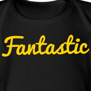 fantastic word ! Baby Bodysuits - Short Sleeve Baby Bodysuit