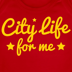 city life for me with stars city lights! Baby Bodysuits - Short Sleeve Baby Bodysuit